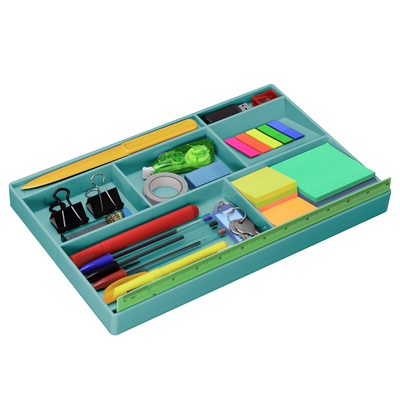 Acrimet Drawer Organizer Solid Green Color Code 977 Vo