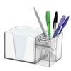 954 SOLID PINK PAPER PENCIL CLIP HOLDER ORGANIZER MAIN MINIATURE