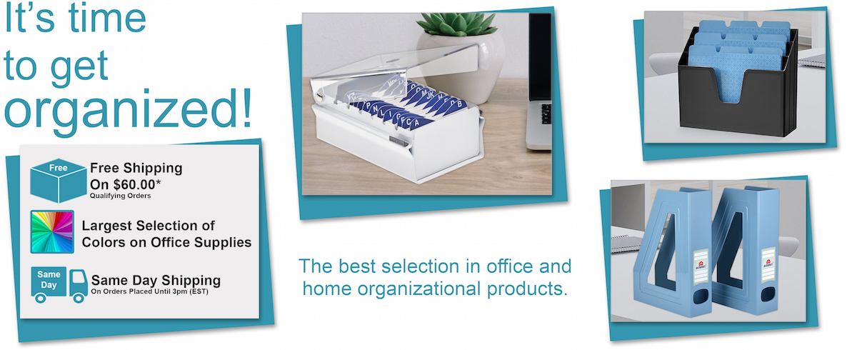 Online Store For Office Supplies, Home Decor, And Organizers
