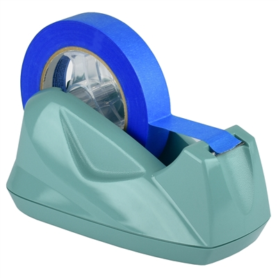 Acrimet Premium Tape Dispenser Jumbo Solid Green Color